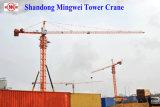 La capienza di caricamento massimo delle gru a torre Qtz80 (TC5512) è caricamento 8t/Tip: 1.2t/Boom: 55m