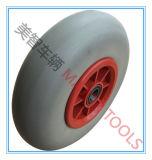 Pneumatico liscio del solido della prova di puntura della rotella della gomma piuma dell'unità di elaborazione di resistenza bassa