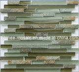 Tuile de mosaïque en verre de Backsplash de cuisine (GS97-B)