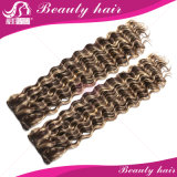 加工されていないバージンのブラジルの毛ボディ波4PCSのブラジルのバージンの毛の人間の毛髪の拡張柔らかいブラジルの毛の織り方の束