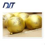 ofícios decorativos das decorações da esfera do Natal de 6cm Matt