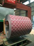 Les modèles neufs ont enduit les bobines d'une première couche de peinture galvanisées de l'acier enduites d'une première couche de peinture par fleur PPGI