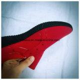 Черная обувь PVC впрыски Outsole для людей