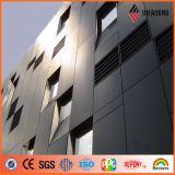 Стена Ideabond внешняя декоративная плюс панель PVDF алюминиевая составная (AF-400)