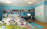 Het recentste Houten Meubilair van de Slaapkamer van het Stapelbed van de Ontwerpen van het Tweepersoonsbed voor Jonge geitjes (et-008)