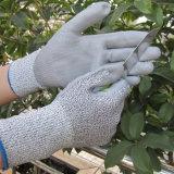 L'ajustement superbe d'épreuve de pétrole a coupé le gant résistant de travail de sûreté d'unité centrale de gants