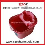 高品質のプラスチック注入のモップのバケツ型