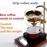 3kg 0.1g Digital Tropfenfänger-Küche-Kaffee-Schuppen mit Timer-Funktion