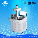 aceros inoxidables de 10W 20W 30W, metales, ABS, máquina de la marca del laser de la fibra de los plásticos
