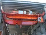 Тип отливка Yz луча двойника/кран Eot плавильни с машинным оборудованием электрической лебедки поднимаясь для сталелитейного завода