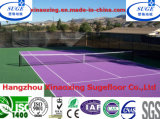 Incendio Proof Outdoor 304.8X304.8mm Tennis Court Flooring Mat