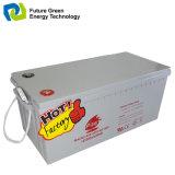 batterie en verre rechargeable d'acide sulfurique de fil du couvre-tapis 12V75ah pour l'éclairage LED solaire