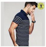 Polo su ordinazione della camicia di polo di nuovo modo per le magliette degli uomini, camice di vestito robuste casuali
