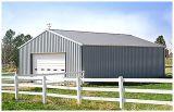 Gruppo di lavoro chiaro Pre-Costruito/magazzino della struttura d'acciaio
