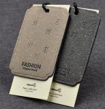 Modifica di lusso dell'indumento della modifica di caduta del Hangtag di disegno