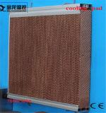 Medios de enfriamiento por evaporación del cojín de aire