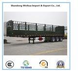제조자에서 대중적인 반 3개의 차축 말뚝 트럭 트레일러
