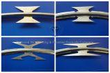 Горячий окунутый гальванизированный провод лезвия бритвы металла
