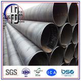 수성 가스와 기름 수송을%s 나선형 강관 용접된 탄소 강관