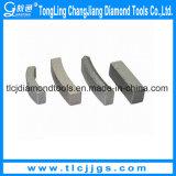 Segmento del dígito binario de taladro de la base del diamante del concreto reforzado