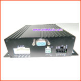 carro de gravação video DVR de 4CH 720p para a segurança do barramento
