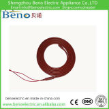 Alambre flexible de caucho de silicona de calefacción
