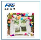 Flor de papel gigante feita sob encomenda de parede do partido do contexto do casamento