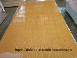madeira compensada da folha de prova do papel do poliéster do baixo preço da alta qualidade de 15mm-18mm para o uso da mobília