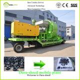판매를 위한 폐기물 플라스틱 절단과 재생 기계장치를 위해