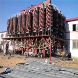 重い鉱物の選択のためにネジ・シュート装置を採鉱する重力