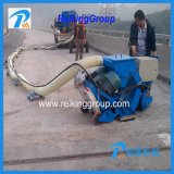 Máquina movible horizontal del chorreo con granalla con el colector de polvo