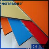 サイズ1220*2440*3mmの人気のある木カラーアルミニウム合成のパネル