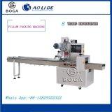 Empaquetadora eléctrica de la máquina del paquete del flujo en máquina de rellenar