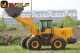 5t de zware Lader van het Wiel van het VoordieEind van de Bouw in China wordt gemaakt