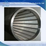 Écran soudé par fil de cale pour la filtration ou le traitement des eaux