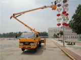 Jmc Brand 16m Aerial Work Platform Truck, High-Altitude Working Vehicle, Tail-Lift Truck, Overhead Working Truck