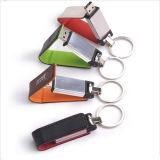 Mecanismo impulsor promocional del flash del USB del cuero del regalo promocional