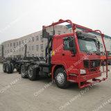 サラソウジュのトラックの木およびログの輸送