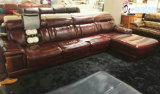 Nuovo Recliner Leather Sofa con Massage Functuin (C016)