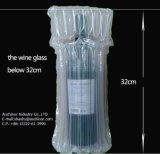 Sac en plastique clair de bouteille de vin de sac de vin de bulle