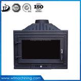 Customized Wrought Iron Casting Style Européen Mini Foyer Électrique Utilisé en Hiver