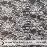 Venta al por mayor floral de la tela del cordón del telar jacquar (M0433)