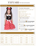 Мышь Минни Cosplay маленькой девочки ягнится Costume с Headwear