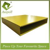 50W*300hアルミニウム装飾はカラーバッフルの天井板を結合した