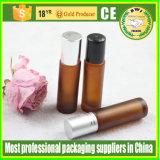 bottiglie del Roll-on dell'olio essenziale di 3ml 5ml 10ml con la bottiglia di vetro del tubo della sfera di rullo per profumo