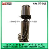 Dn100 válvula del acero inoxidable Ss316L Aspetic Mixproof con la elevación del asiento