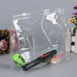 Sac cosmétique de renivellement de PVC de bijou transparent de cadeau