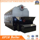 Doppia caldaia a vapore infornata del carbone industriale della griglia della catena del fiocco dei timpani