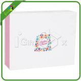 Новая причудливый роскошная коробка подарка плоского пакета рециркулированная складывая бумажная