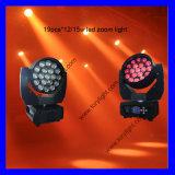 Etapa LED 19 * 15W LED Beam luz principal móvil